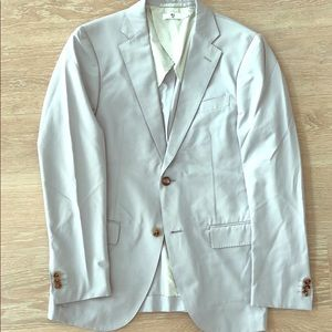 +J Uniqlo cotton blazer